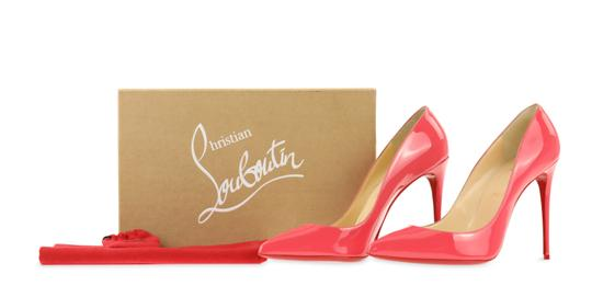 Christian Louboutin Pigalle Stiletto Follies Classic Patent Pink Pumps Image 11