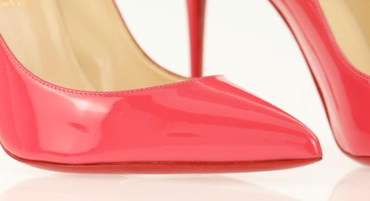 Christian Louboutin Pigalle Stiletto Follies Classic Patent Pink Pumps Image 7