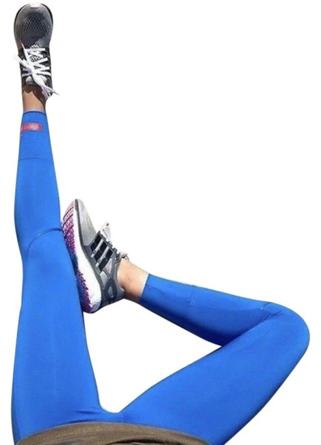 Item - Blue 7/8 Tight Climalite Stretch Activewear Bottoms Size 6 (S, 28)