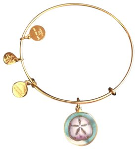Alex and Ani Sand dollar Bangle/Charms