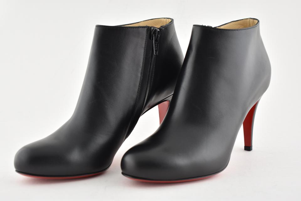 6ade11a5b170 Christian Louboutin Stiletto Ankle Classic Belle black Boots Image 11.  123456789101112