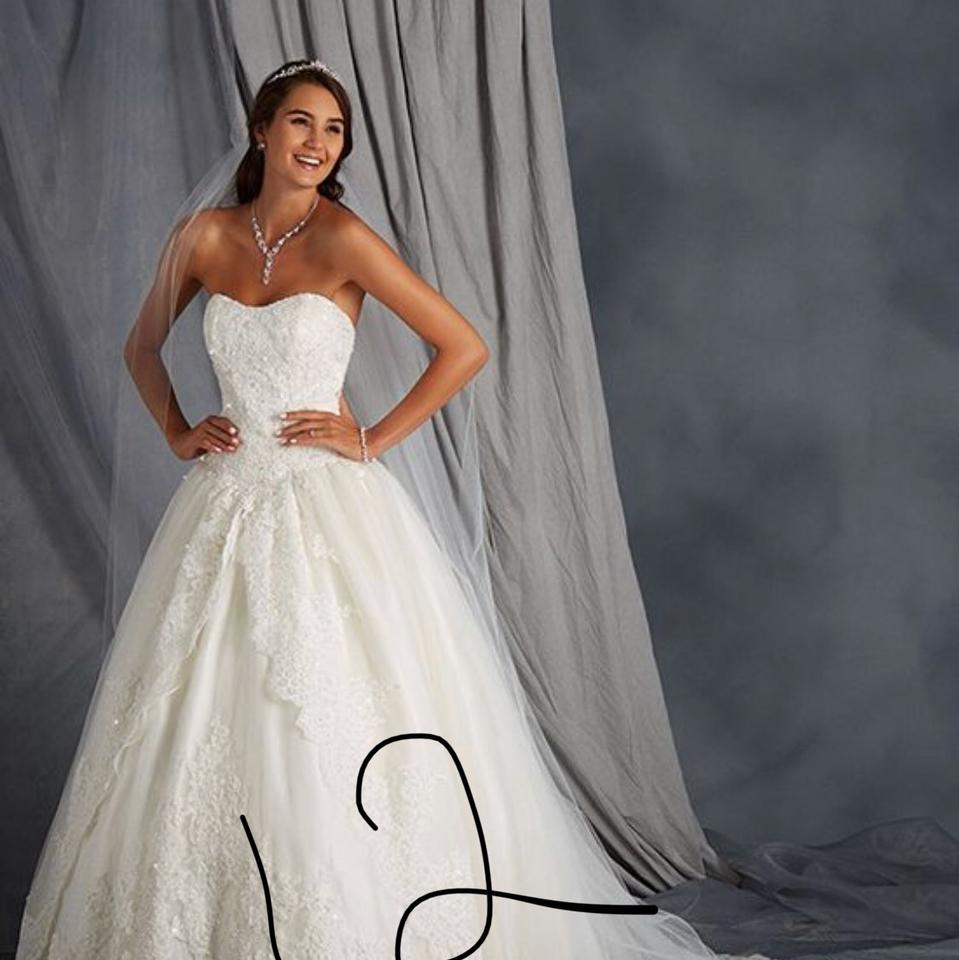 White Gowns To Go Formal Wedding Dress Size 10 (M) - Tradesy
