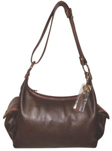 Marino Orlandi Refurbished Leather Extra-large Euc Hobo Bag