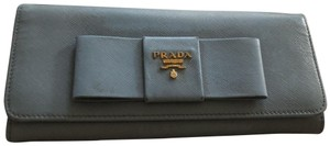 Prada Wristlet in blue