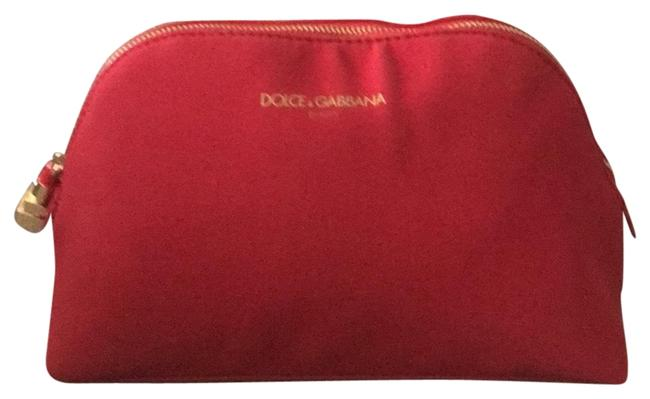 Item - Red Dolce & Gabbana Cosmetic Bag
