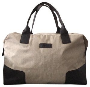 Canvas Leather Weekend Travel Bag