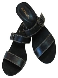 Aerosoles Sandal Good Condition black Sandals