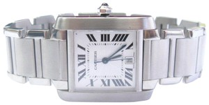 Cartier Cartier Tank Francaise Stainless Steel Large Size Automatic, Ref, 2302