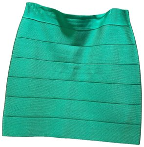 bebe Mini Skirt green