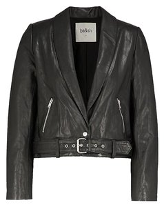 ba&sh Leather Jacket