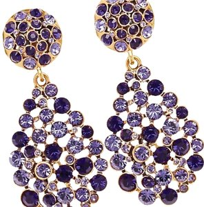 Oscar de la Renta OSCAR DE LA RENTA Swarovski Crystal Teardrop Clip Earrings