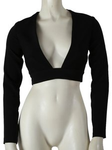 Solace London Casual Top Black