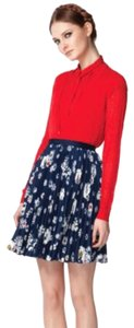 Jason Wu for Target Skirt Navy with white and red accents