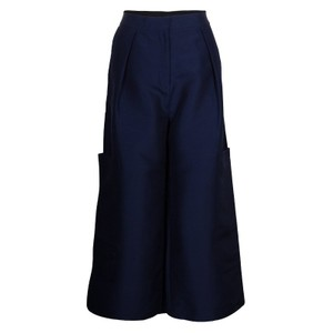Roksanda Ilincic Trouser Pants Navy Blue