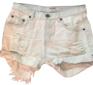 OneTeaspoon Denim Shorts-Distressed
