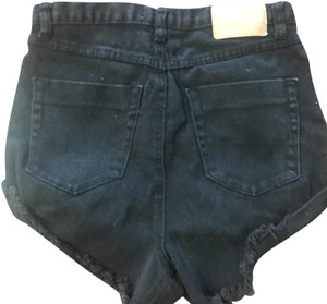 OneTeaspoon Denim Shorts-Dark Rinse