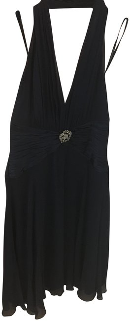 Item - Navy Blue In Short Cocktail Dress Size 2 (XS)