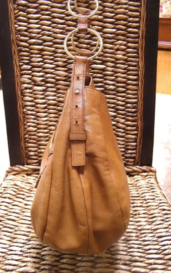 Saint Laurent Yves Large Purse Tobacco Brown Leather Shoulder Bag ... 5bf830be18d3e