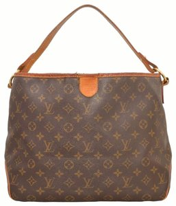 Louis Vuitton Leather Monogram Shoulder Luxury European Hobo Bag
