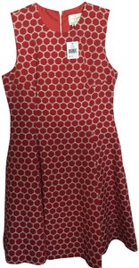 Kate Spade New Girl Style Fit And Flare Polka Dot Dress