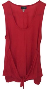 Armani Jeans Top red