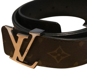 Louis Vuitton Louis Vuitton AUTHENTIC Monogram Belt
