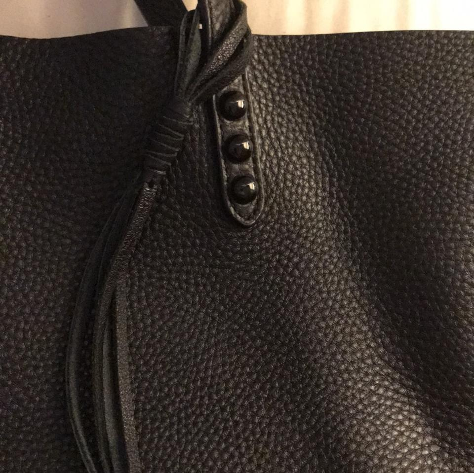Leather Minkoff Rebecca Rebecca Minkoff Black Tote Leather Tote Black F5C1qF