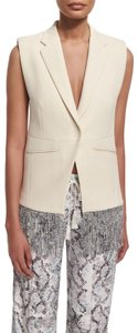 Foundrae Fringe-trim Gray Vest