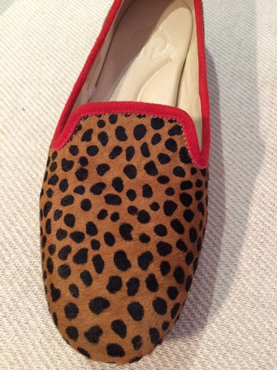 Other Leopard print with red piping Flats Image 1