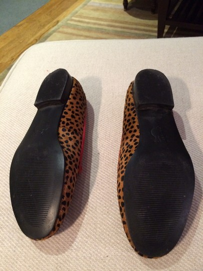 Other Leopard print with red piping Flats Image 2