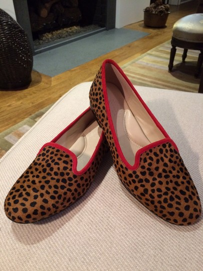 Other Leopard print with red piping Flats Image 3
