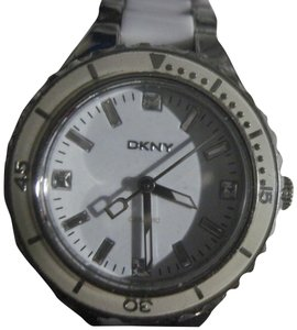 DKNY DKNY Women's Ceramic Stainless Steel White Dial Watch