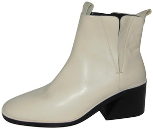 Mercedes Castillo Ivory Leather Chelsea Boots