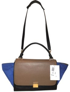 Céline Suede Leather Extra-large Convertible Hobo Bag