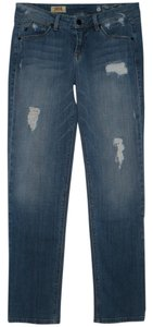 SOLD Design Lab Boyfriend Cut Jeans-Distressed