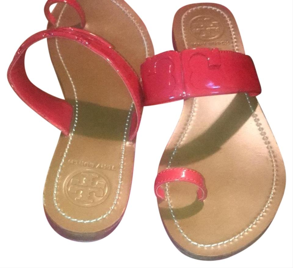 4cba158c0fb1 Tory Burch Red 21168710 Sandals. Size  US 9 Regular (M ...