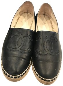 24381c59de6 Chanel Black Espadrilles - Up to 70% off at Tradesy