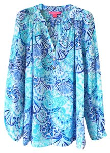 Lilly Pulitzer Top Half Shell