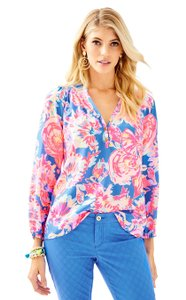 Lilly Pulitzer Top Bay Dreamin