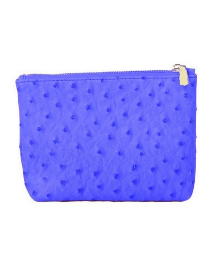 Preload https://img-static.tradesy.com/item/23645116/christopher-kon-blue-ostrich-embossed-cosmetic-bag-0-0-540-540.jpg