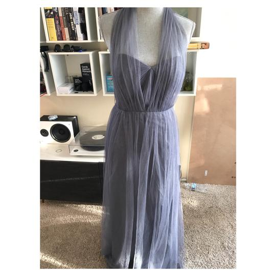 Jenny Yoo Anabelle Convertible Tulle Gown Feminine Bridesmaid/Mob Dress Size 10 (M) Image 2