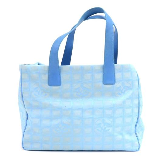 Chanel Tote in Blue Image 1