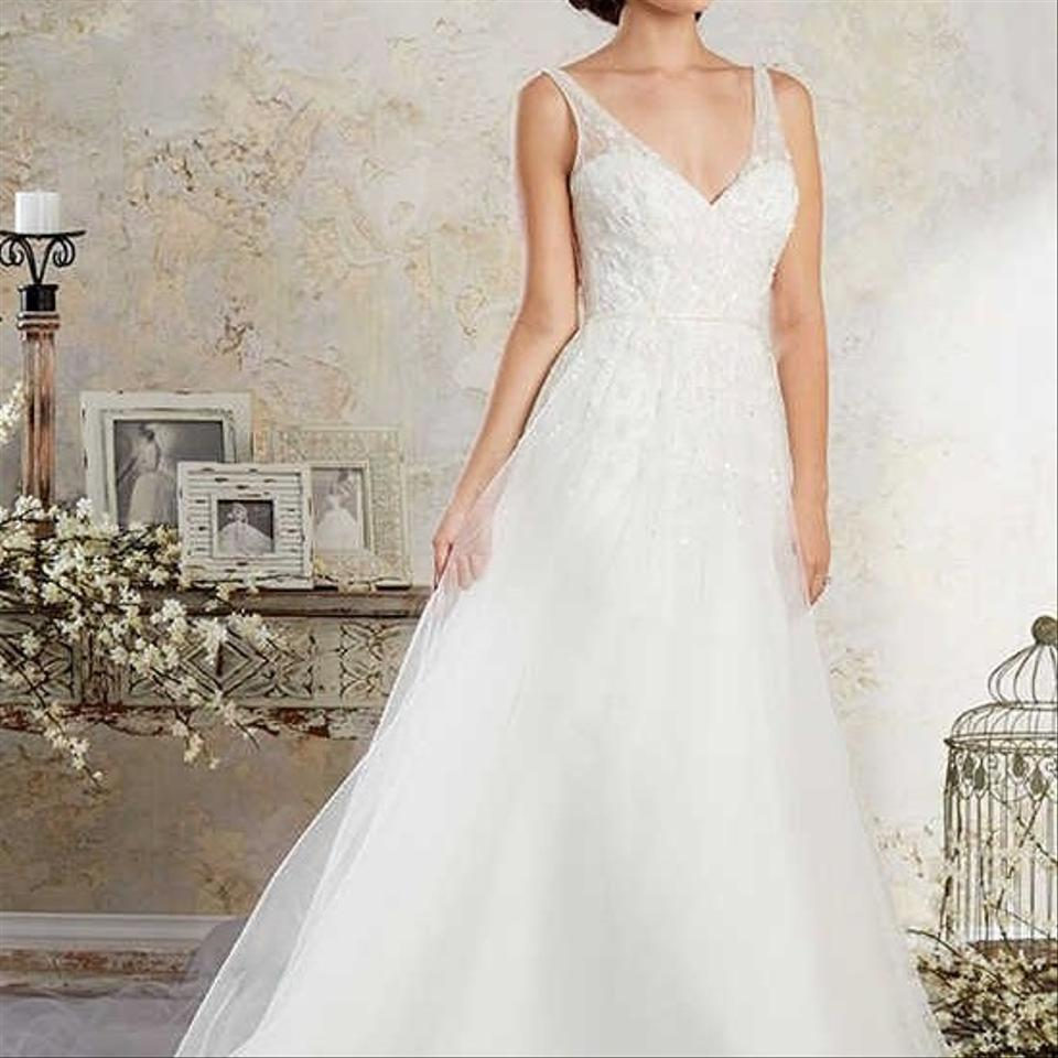 Alfred Angelo: Alfred Angelo White Vintage Wedding Dress Size 18 (XL