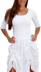Lirome short dress White Boho Cozy Cottage Wester Summer on Tradesy