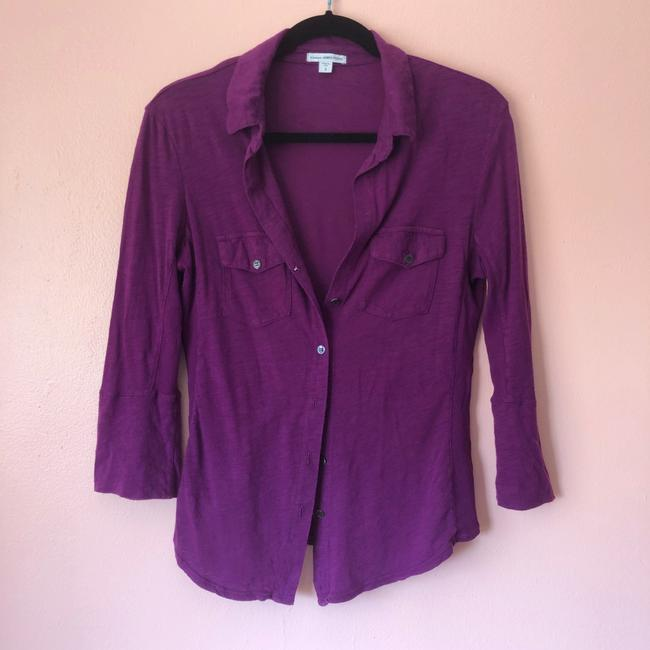 James Perse Button Down Shirt Image 1