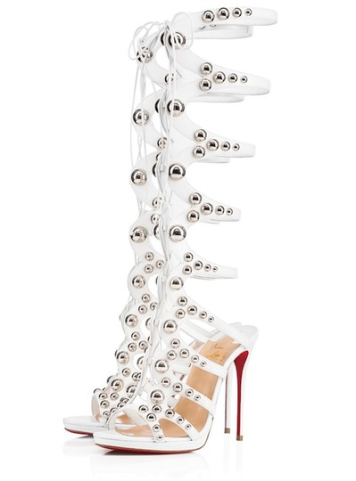 Preload https://img-static.tradesy.com/item/23645800/christian-louboutin-white-amazoutiful-120-silver-studded-knee-high-gladiator-sandal-heel-pumps-size-0-0-540-540.jpg
