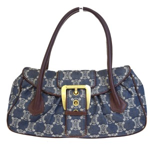 Céline Made In China Tote in Blue