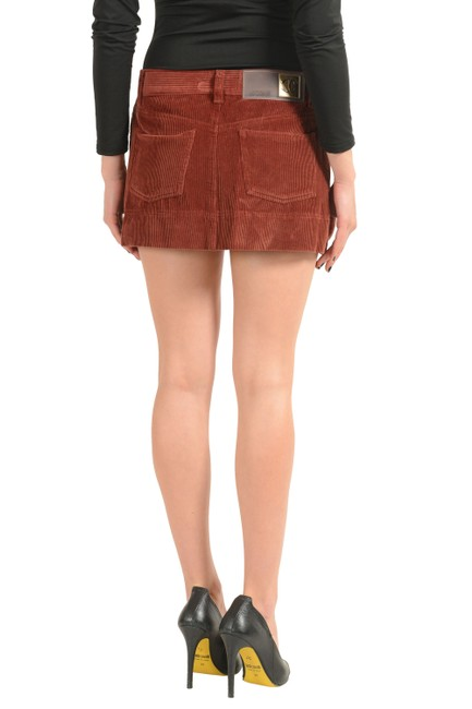Just Cavalli Mini Skirt Brown Image 2