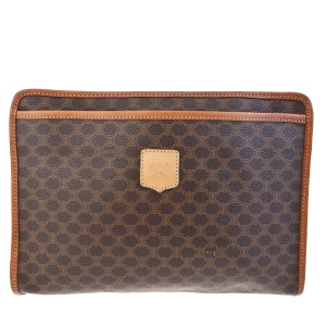 Céline Made In Italy Brown Clutch