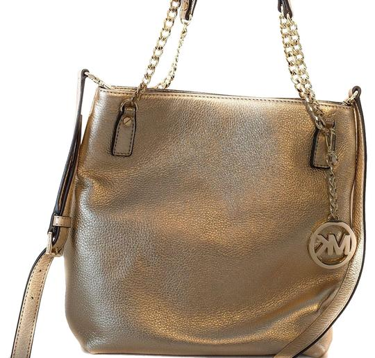 Michael Kors Leather Messenger Handbag Shoulder Bag Image 0